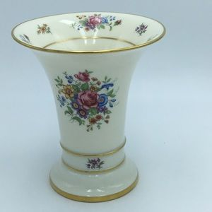 Vintage Lenox Rose Vase